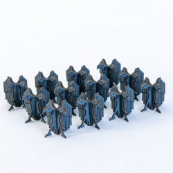 Micro Scale Aquila Finials x12 (Grey)