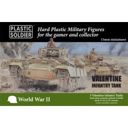 15mm British Valentine Tank