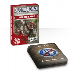 Blood Bowl Cards: Shambling Undead Pack - English