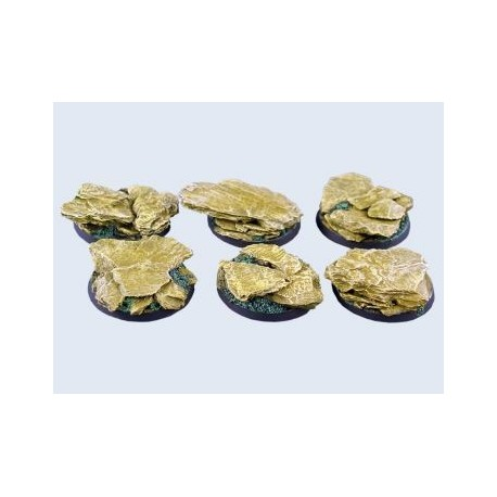 40mm Round Shale Bases