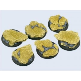 40mm Lipped Round Shale Bases