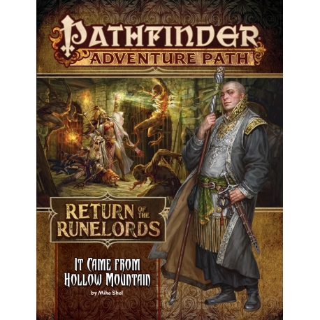 Pathfinder Adventure Path: It Came from Hollow Mountain (Return of the Runelords 2 of 6)