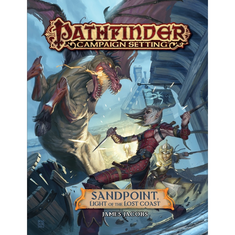 Pathfinder Campaign Setting: Sandpoint, Light of the Lost Coast - Wayland  Games