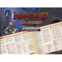 Midgard GM Screen for Pathfinder RPG