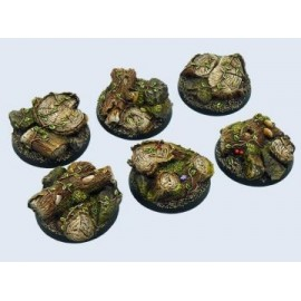 40mm Round Forest Bases