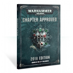 Warhammer 40000: Chapter Approved 2018 Softback - English