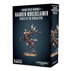 Chaos Space Marines Haarken Worldclaimer