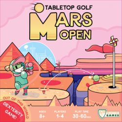 Mars Open: Tabletop Golf (Boxed Dexterity Game)