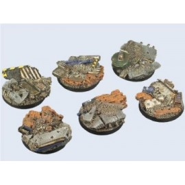 40mm Round Old Factory Bases
