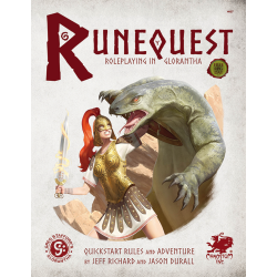 RuneQuest RPG: Roleplaying in Glorantha Quick Start