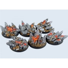 40mm Round Chaos Bases