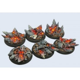 40mm Lipped Round Chaos Bases