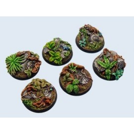 40mm Round Jungle Bases