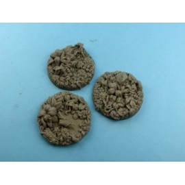 50mm Round Jungle Bases