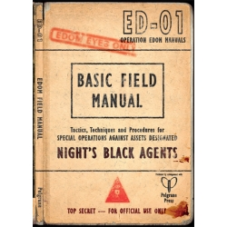 The Edom Field Manual: Night's Black Agents Supp