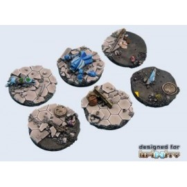40mm Round Urban Fight Bases