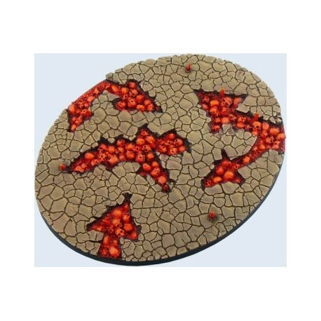 Chaos Waste Bases, Ellipse 120mm
