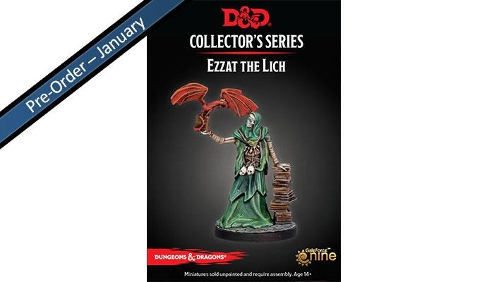 Dungeon of the Mad Mage Ezzat - Limited Edition Miniatures