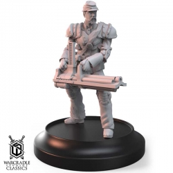 Warcradle Classics - Union Trooper with Liberty Gatling Gun