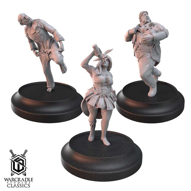 Warcradle Classics - Civilians Set II - Other Models