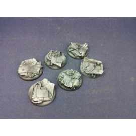 40mm WRound Scrapyard Bases