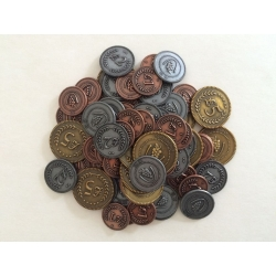 Metal Lira Coins: Viticulture