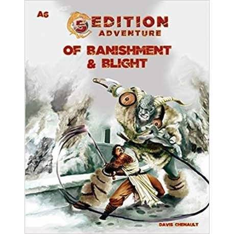 A6- Of Banishment & Blight : 5th Edition Adventures RPG