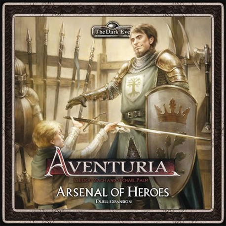 The Dark Eye: Aventuria ACG: Arsenal of Heroes Expansion