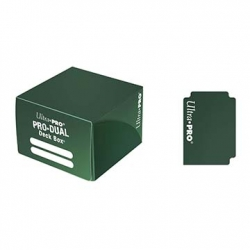 Green Pro Dual Deck Box (180 Cards)