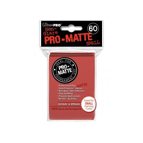 Pro Matte Small Red DPD