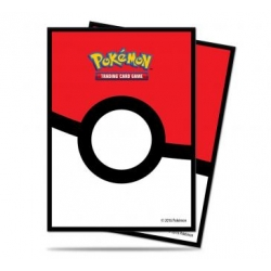 (UNIT) Pokeball Deck Protector for Pokemon (65)