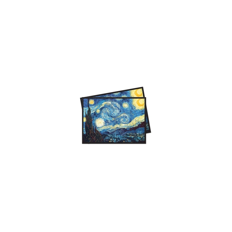 Starry Night Ultra Pro Fine Art 65 Deck Protector Sleeves Pack