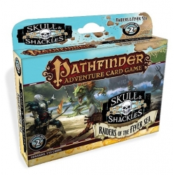 Raiders of the Fever Sea: Skull & Shackles Adventure Deck 2: Pathfinder Card Game