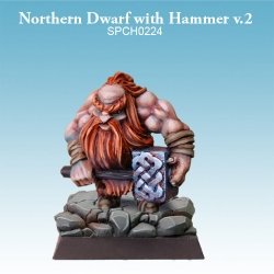 Northern Dwarf with Hammer Version 2