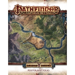 Ironfang Invasion Poster Map Folio: Pathfinder Campaign Setting