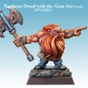 Northern Dwarf with Great Axe Version 2