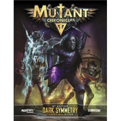 Dark Symmetry Campaign: Mutant Chronicles Supp- Full Color