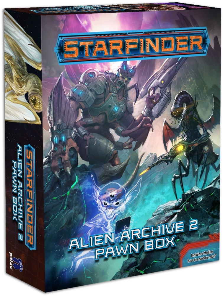 Starfinder Roleplaying Game: Beginner Box - Starfinder - Sci-Fi