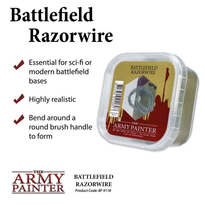 Battlefield Razorwire - Army Painter Scenics and Effects