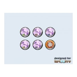 Infinity Tokens Camo Purple