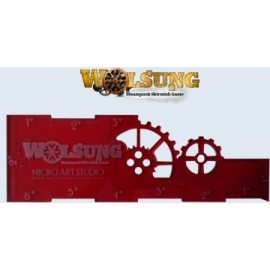 Wolsung Range Ruler - Red
