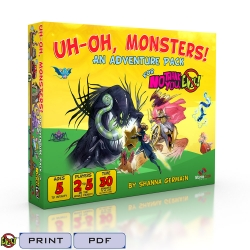 Uh oh Monsters: No Thank You Evil Exp.