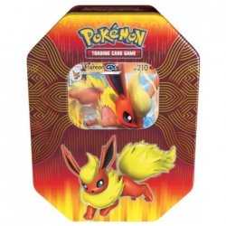 Pokemon TCG: Elemental Power Tin Flareon-GX
