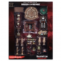 Dungeons and Dragons Icons of the Realms Waterdeep: Dungeon of the Mad Mage Halaster's Lab Premium