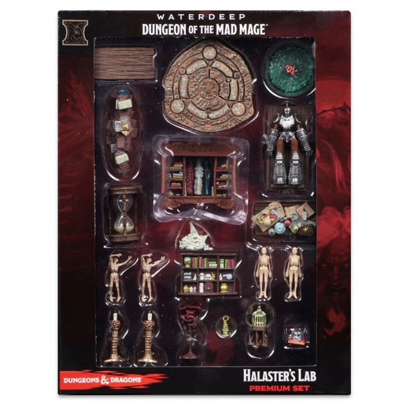 Dungeons and Dragons Icons of the Realms Waterdeep: Dungeon of the Mad Mage  Halaster's Lab Premium - Wayland Games