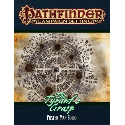Pathfinder Campaign Setting: The Tyrant's Grasp Poster Map Folio