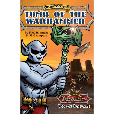 Grimtooth's Tomb of the Warhammer RPG Adventure