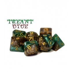 Halfsies Dice - Treant (Poly 7 Set)