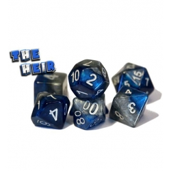 Halfsies Dice - The Heir (Poly 7 Set)