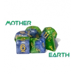 Halfsies Dice - Mother Earth (Poly 7 Set)